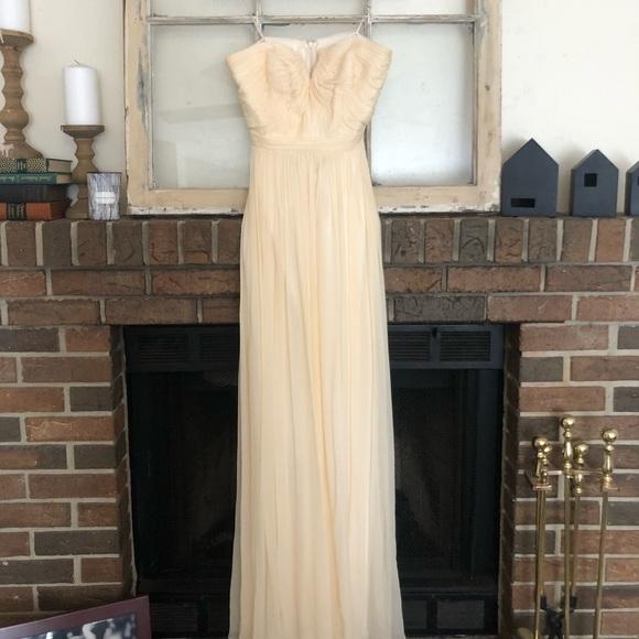 J. Crew Dresses & Skirts - JCrew Formal Cream Dress